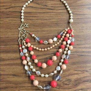 Jewelry - Faux coral necklace